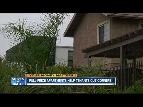 Full-price apartments helping some San Diego tenants save money