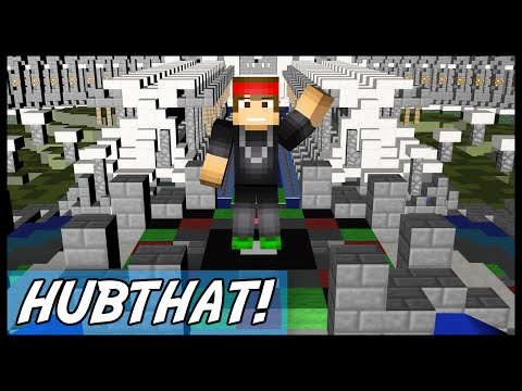 Minecraft | HubTHAT (Set hub and set a spawn for EACH world!) | Plugin Tutorial