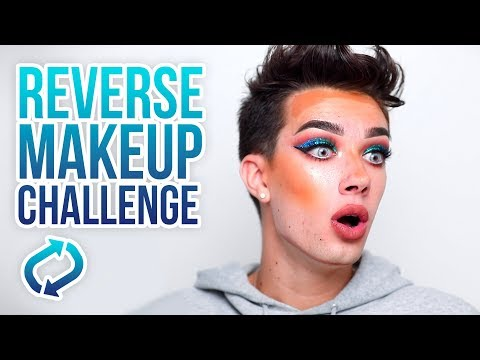 DOING MY MAKEUP IN REVERSE