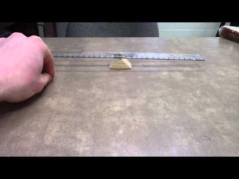 Balancing Ruler Problem