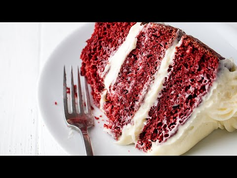 How to Make The Most Amazing Red Velvet Cake | The Stay At Home Chef