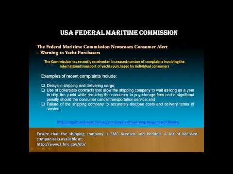 Boat Shipping USA to Australia