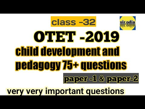 OTET 2019 (ENVIRONMENTAL STUDIES) !! TOP 25 GK QUESTION WITH