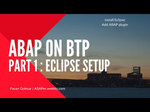 ABAP on Eclipse Part #1 | Install SAP ABAP Development Tools in Eclipse