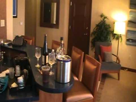 Harrah's Casino Atlantic City Corner Suite