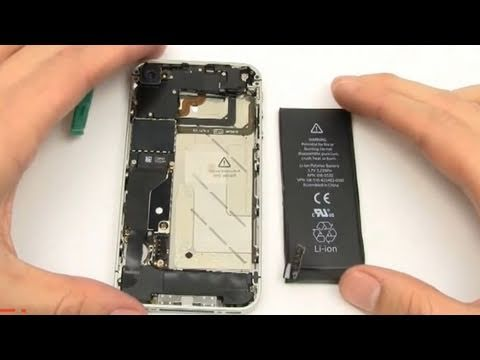 How to: iPhone 4 Verizon Battery Replacement