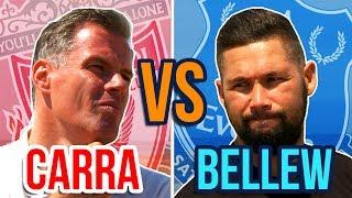 Jamie Carragher vs Tony Bellew | Ultimate XI