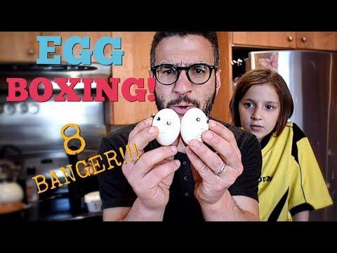 EGG BOXING - AN 8 BANGER!!!