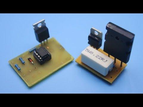 Simple direct current regulator circuits