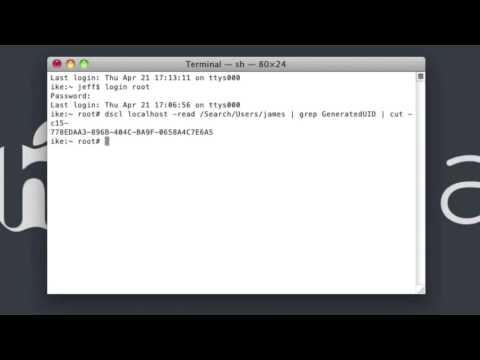 Easy Crack Mac Password Snow Leopard, Leopard, Tiger