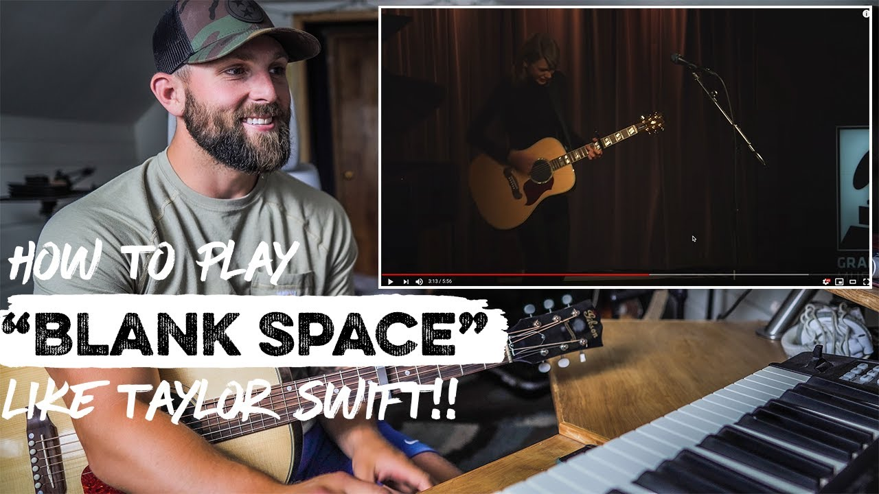 """How To Play """"Blank Space"""" LIKE TAYLOR SWIFT 