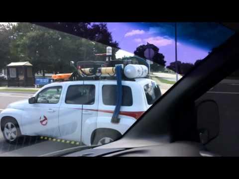 Ghostbuster Car in Largo Fl.