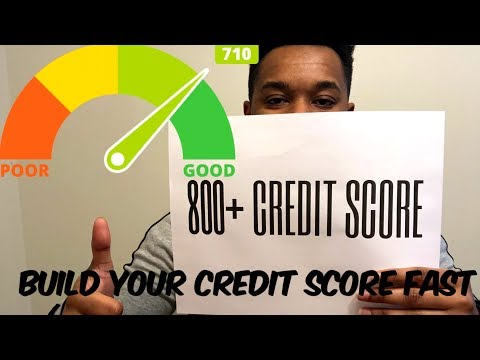 How to BOOST your credit score FAST for 2018