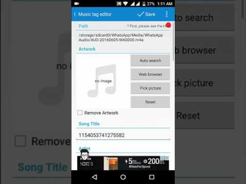 How to Add Image in Mp3 Song in Android | Add Album Cover To A Song On Android