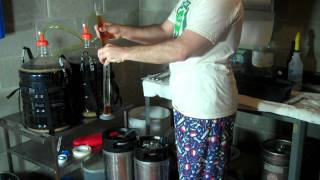 Transferring Beer From Carboy To Corny Keg For Homebrewing
