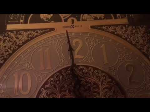 Howard Miller Grandfather Clock Striking Wrong Hour