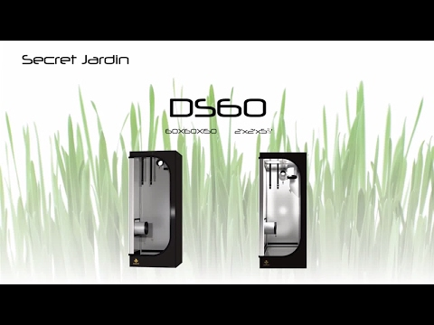 How to set up Secret Jardin small grow tent DS60 | Product Tutorial
