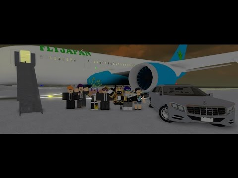 [ROBLOX] Working at Fly Japan Once Again