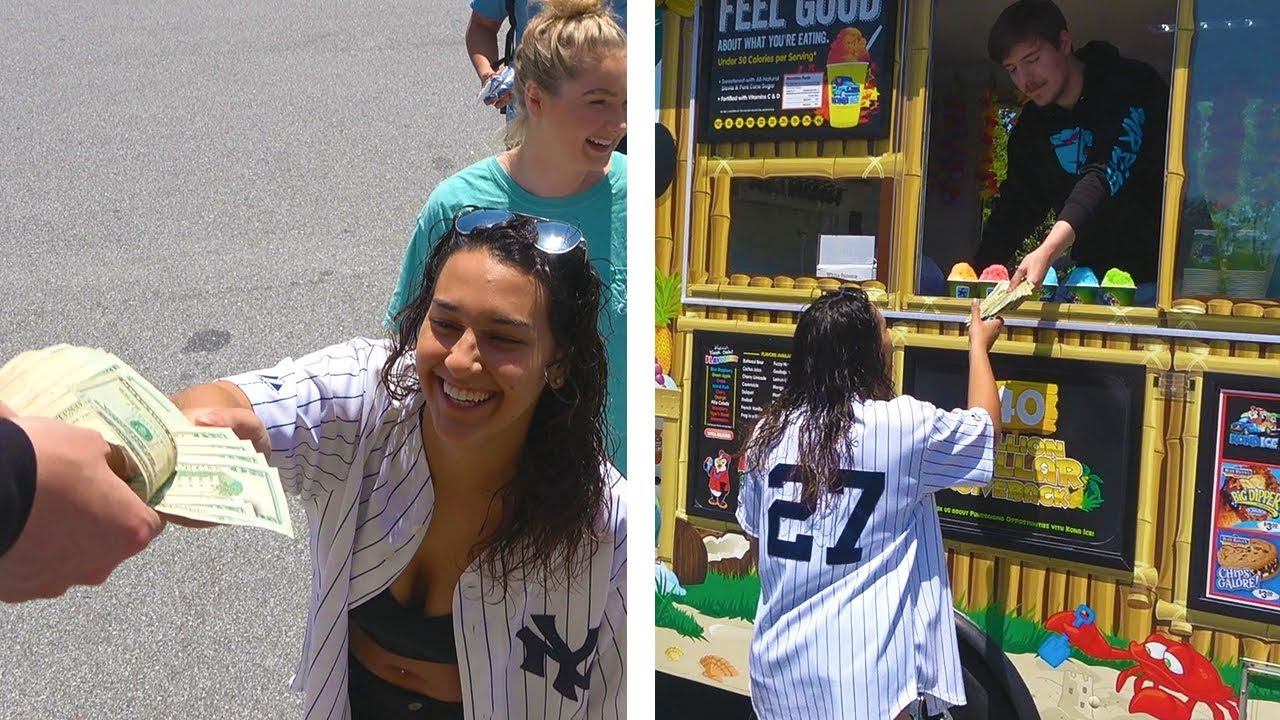 I Gave $20,000 To People From An Ice Cream Truck