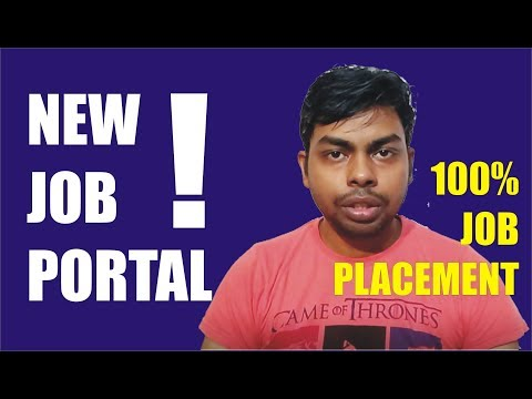 Introduction of New Job Placement Portal to Get Fast and 100% Placement for Skilled Candidate's