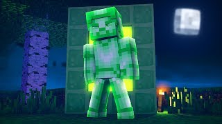 HOW TO CRAFT A PORTAL TO GREEN STEVE DIMENSION (Scary) w/ Little Lizard