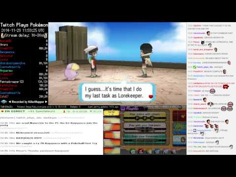 Twitch Plays Pokémon Omega Ruby ▲ Rayquaza, Deoxys and Delta Episode