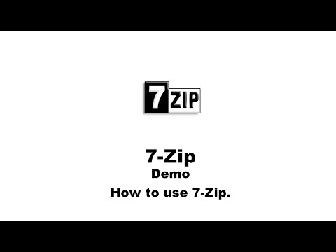 How to Use 7-Zip