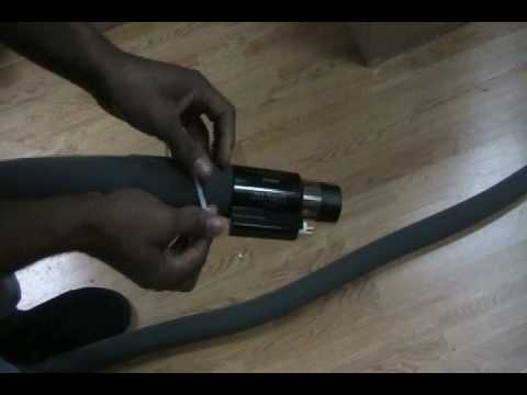 Central Vacuum Hose Sock Installation - Accessories: Hose Cover
