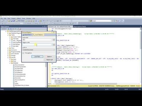 Create Schema in Sql Server