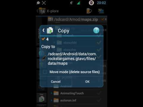 tutor pasang mod maps gta vc android