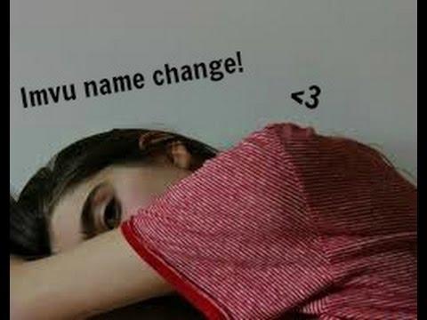 Imvu Name Change 💕