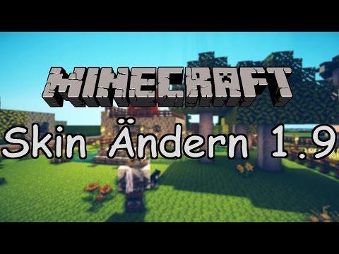 Minecraft 1.9 Skin ändern Cracked/Premium user [Free] [German]