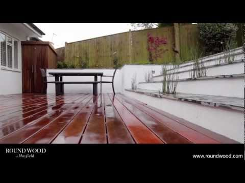 Ipe Decking: A case study by Round Wood of Mayfield