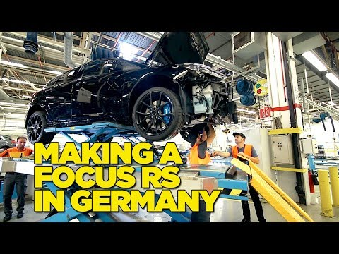 Making Our Own Ford Focus RS In Germany