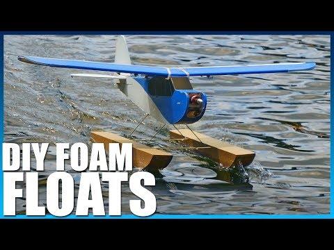 DIY Waterproof Plane Floats | Flite Test