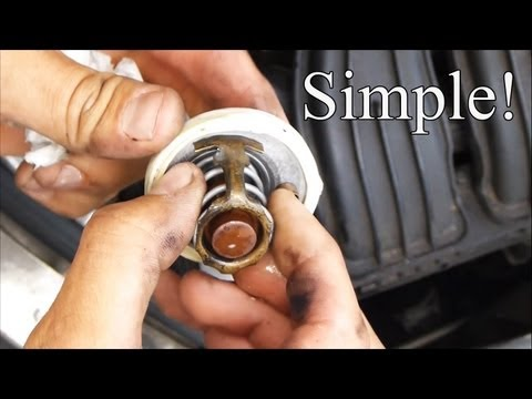 How to Change a Thermostat in a PT Cruiser