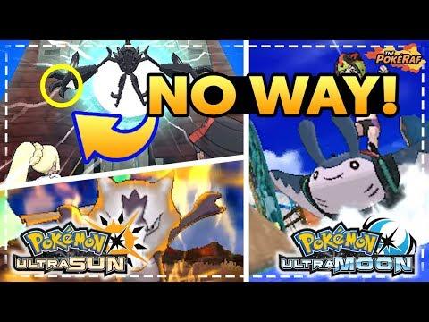 SURF MANTINE, NEW TOTEM POKEMON, NEW POKEDEX AND MORE! - Pokémon Ultra Sun and Ultra Moon