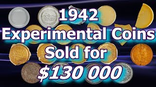 1942 Glass and Plastic Cents Sell for Over $130 000