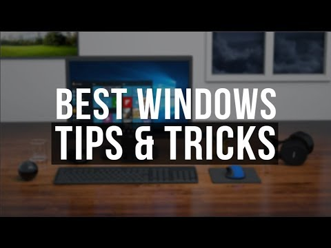 10 Windows Tricks EVERYONE should be using! - 2018