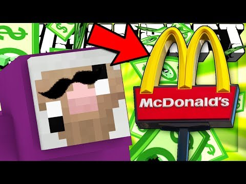 If You Could Have JOBS in MINECRAFT (McDonalds in Minecraft)