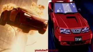 Fast & Furious 7 Anime Version - (Escena de los edificios)