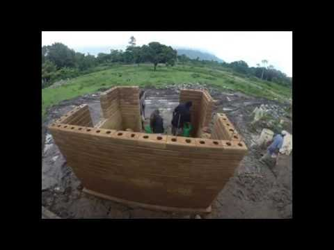 Compressed Earth Block Training Build Welcome Home Haiti