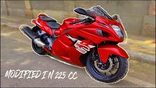 Dominar 400 Modified Into Hayabusa full Information Step by