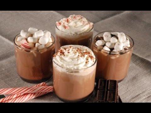 Homemade hot chocolate recipe with milk