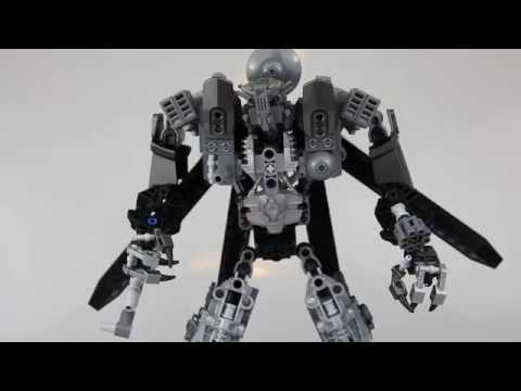 Lego Transformers - Custom Blackout Review (обзор)