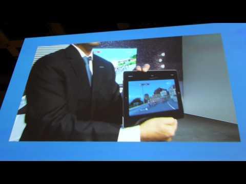 Panasonic Viera Viewer streaming from TV to iPad @ IFA 2012 [macitynet.it]