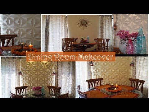 Dining Room Wall Makeover   Wall Art Wall Decor
