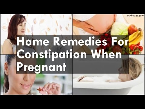 Home Remedies For Constipation When Pregnant
