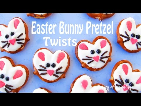 Easter Bunny Pretzel Twists