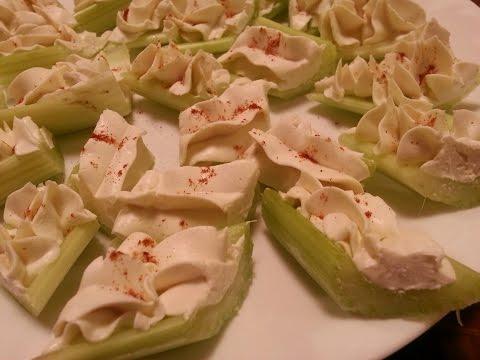 Cream Cheese Stuffed Celery